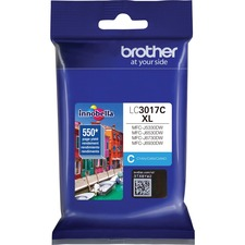 Brother Innobella LC3017C Original Ink Cartridge - Cyan - Inkjet - High Yield - 550 Pages - 1 / Pack
