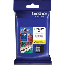 Brother Innobella LC3017Y Original Ink Cartridge - Yellow - Inkjet - High Yield - 550 Pages - 1 / Pack