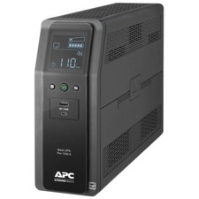 APC by Schneider Electric Back-UPS Pro BR BR1350MS 1350VA Tower UPS - Tower - 16 Hour Recharge - 3.30 Minute Stand-by - 120 V AC Input - 120 V AC Output - 10 x NEMA 5-15R