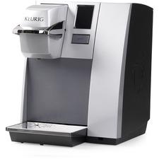 Keurig K155 OfficePRO Premier Brewing System - Programmable - 2.66 L - Black, Silver