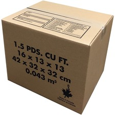 Spicers Paper Shipping Case - 65 lb - For Office Supplies, Craft Supplies - 20 / Pack