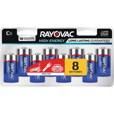 RAY 8148LK Rayovac Alkaline C Batteries RAY8148LK