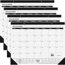 AAGSK240018BD - At-A-Glance Classic Monthly Desk Pad
