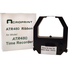 ACP390127002 - Acroprint Ribbon Cartridge - Black, Red
