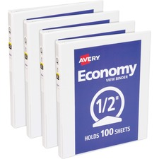 AVE05706BD - Avery® Round Ring Economy View Binder