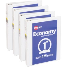 AVE05806BD - Avery&reg Round Ring Economy View Binder