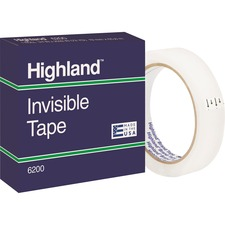 MMM 6200342592PK 3M Highland Economy Invisible Tape MMM6200342592PK