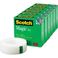 MMM 81011296PK 3M Scotch Magic Tape MMM81011296PK