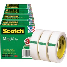 MMM 810723PKBD 3M Scotch Magic Tape MMM810723PKBD
