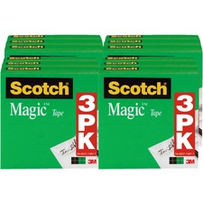MMM 810H3BD 3M Scotch Magic Tape MMM810H3BD