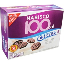 NFG 05344 Nabisco 100-Cal Oreo Thin Crisps Snack Packs NFG05344