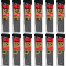 PEN C25HBBX Pentel Super Hi-Polymer Leads PENC25HBBX