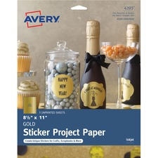Avery 4393 Printable Adhesive Paper