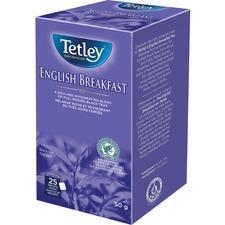 Tetley 100% Rainforest Alliance Certified English Breakfast Tea - Black Tea - English Breakfast - 25 / Box