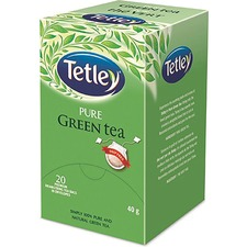 Tetley Pure Green Tea - Green Tea - 25 / Box