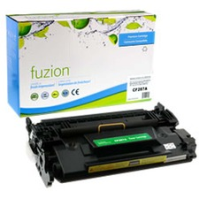 fuzion Toner Cartridge - Alternative for HP 87A - Black - Laser - Standard Yield - 9800 Pages - 1 Each
