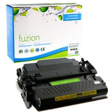 fuzion Toner Cartridge - Alternative for HP 87X - Black - Laser - High Yield - 18000 Pages - 1 Each