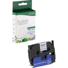 fuzion TZe Laminated Tape - White - 1 Each