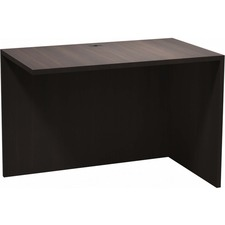 """Heartwood Innovations Evening Zen Desking Series - 1"""" Top, 41.5"""" x 23.8"""" x 29"""" - Material: Wood Grain Top, Particleboard Top, Polyvinyl Chloride (PVC) Edge - Finish: Evening Zen, Thermofused Laminate (TFL) Top"""