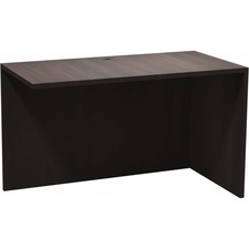 """Heartwood Innovations Evening Zen Desking Series - 1"""" Top, 47.5"""" x 23.8"""" x 29"""" - Material: Wood Grain Top, Particleboard Top, Polyvinyl Chloride (PVC) Edge - Finish: Evening Zen, Thermofused Laminate (TFL) Top"""