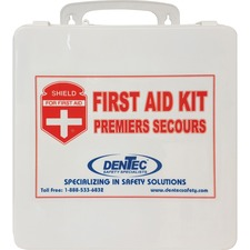 """Impact Products Alberta Regulations Level #2 First Aid Kit - 49 x Individual(s) - 7.25"""" (184.15 mm) Height x 10.50"""" (266.70 mm) Width x 3"""" (76.20 mm) Depth Length - 1 Each"""