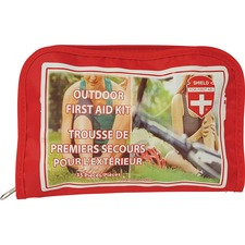 "Impact Products Shield For First Aid Outdoor First Aid Kit - 35 x Piece(s) - 5"" (127 mm) Height x 8"" (203.20 mm) Width x 1"" (25.40 mm) Depth Length - 1 Each"