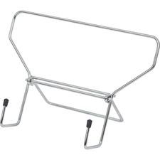 "Merangue Wire Study Stand - 6.25"" (158.75 mm) Width - Silver"