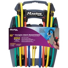 """Master 2-Wire Wire Bungee Cord Assortment - 0.31"""" Diameter x 18"""" Length, 0.31"""" Diameter x 24"""" Length, 0.31"""" Diameter x 32"""" Length, 0.31"""" Diameter x 40"""" Length, 0.31"""" Diameter x 10"""" Length"""