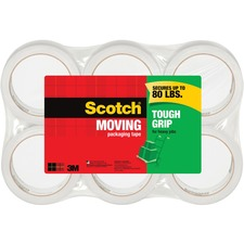 Scotch Sure Start Packaging Tape - 6 / Pack - Clear
