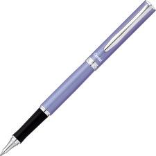 Pentel Sterling 0.7mm Gel Roller Pens - 0.7 mm Pen Point Size - Black Liquid Gel Ink Ink - Violet Barrel - 1 Each