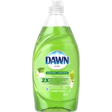 Dawn Ultra Dishwashing Liquid - Liquid - 532 mL - Apple Blossom Scent - 1 Each - Green