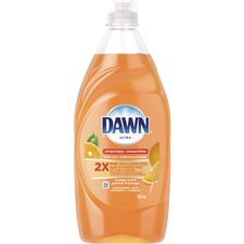 Dawn Ultra Antibacterial Dish Liquid - Ready-To-Use Liquid - Orange Scent - 1 Each