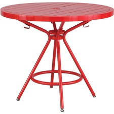 Safco 4362RD Outdoor Table