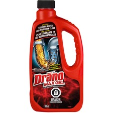 Drano Max Gel Clog Remover - Ready-To-Use Gel - 946.35 mL - 1 Each