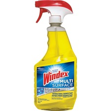 Windex® Multisurface Cleaner - Spray - 25.9 fl oz (0.8 quart) - 1 Each - Yellow