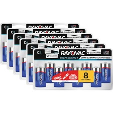 RAY 8148LKCT Rayovac Alkaline C Batteries RAY8148LKCT
