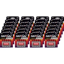 RAY 8158TFUSKCT Rayovac Fusion Advanced Alkaline AA Batteries RAY8158TFUSKCT