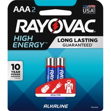 RAY 8242KCT Rayovac Alkaline AAA Batteries RAY8242KCT