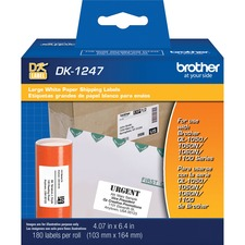 BRT DK1247 Brother Die-cut Large Shipping Paper Labels BRTDK1247