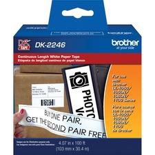BRT DK2246 Brother QL Printer Continuous Length Paper Tape BRTDK2246
