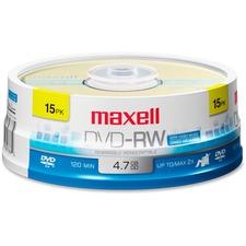 MAX 635117 Maxell 4.7GB DVD-RW Pack MAX635117