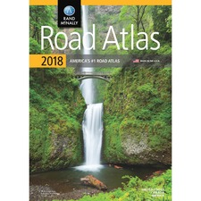 AVT RM528017314 Advantus Rand McNally North American Road Atlas AVTRM528017314