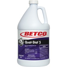 BET 3410400 Betco Corp Quat-Stat 5 Disinfectant Gallon BET3410400