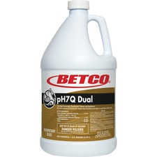 BET 3550400 Betco Corp pH7Q Dual Disinfectant Cleaner BET3550400