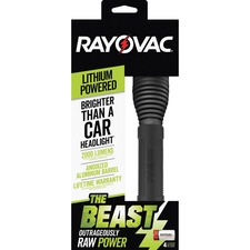 RAY RWP123ABD Rayovac The Beast CR123A Lithium Flashlight RAYRWP123ABD