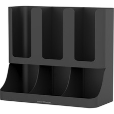 EMS UPRIGHT6BLK EMS Mind 6-compartment Condiment Organizer EMSUPRIGHT6BLK