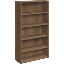 HON LM65BCPNC HON Foundation Five-shelf Laminate Bookcase HONLM65BCPNC