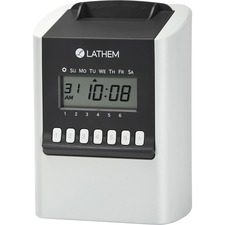 LTH 700E Lathem 700E Calculating Electronic Time Clock LTH700E