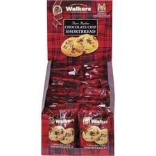 Office Snax Chocolate Chip Shortbread Cookies - Shortbread