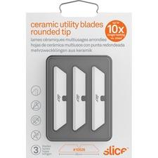 SLI 10526 Slice Rounded Tip Ceramic Utility Blades SLI10526